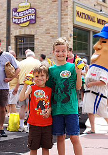 NATIONAL MUSTARD DAY mustard games