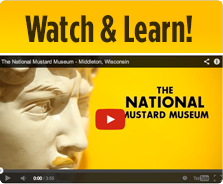 Watch to learn all about the Mustard Museum