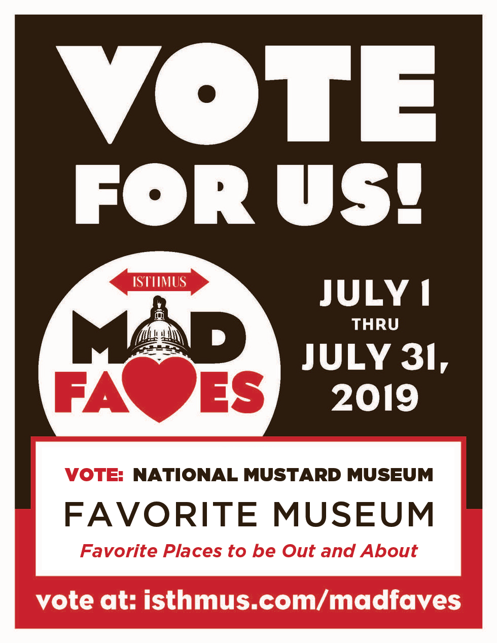 Vote for Mustard!